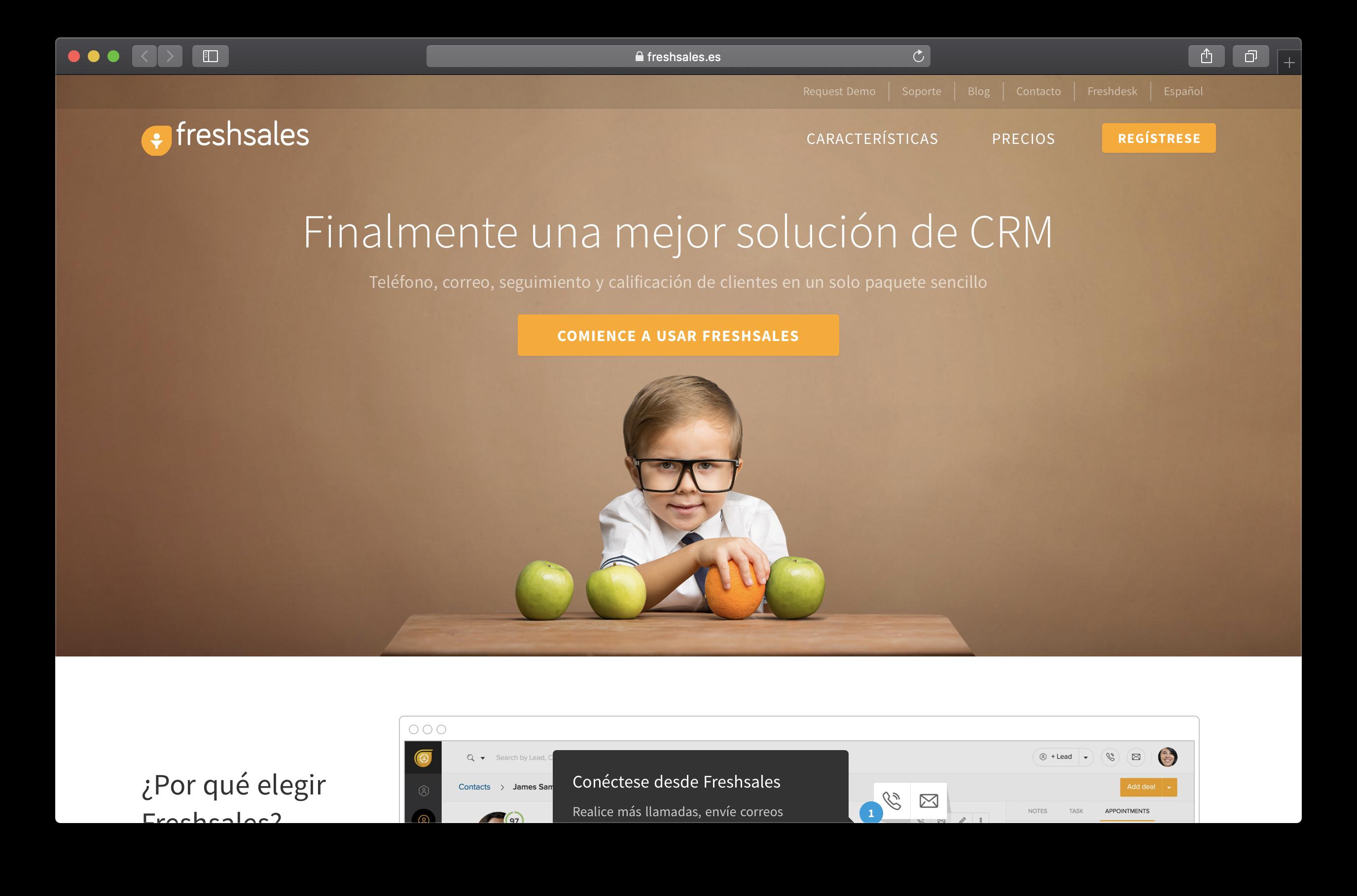 Freshsale-mejor-CRM-gratis-empresa