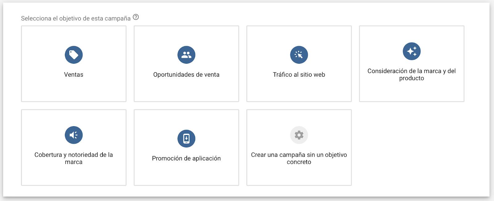 objetivos-campaña-google-ads